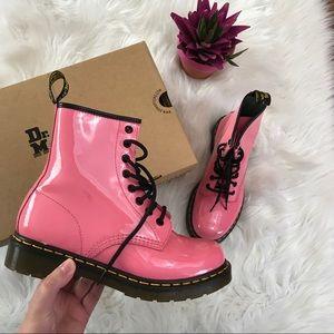 ae576d6f51a5c8 Dr. Martens Shoes - Dr. Martens Women s Acid Pink Boots NWB